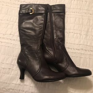 Gianni Bono Brown Leather Boots